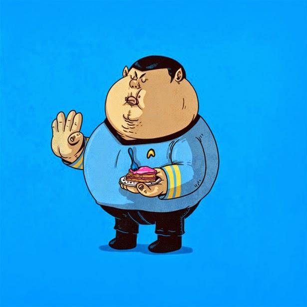 Spock con sobrepeso