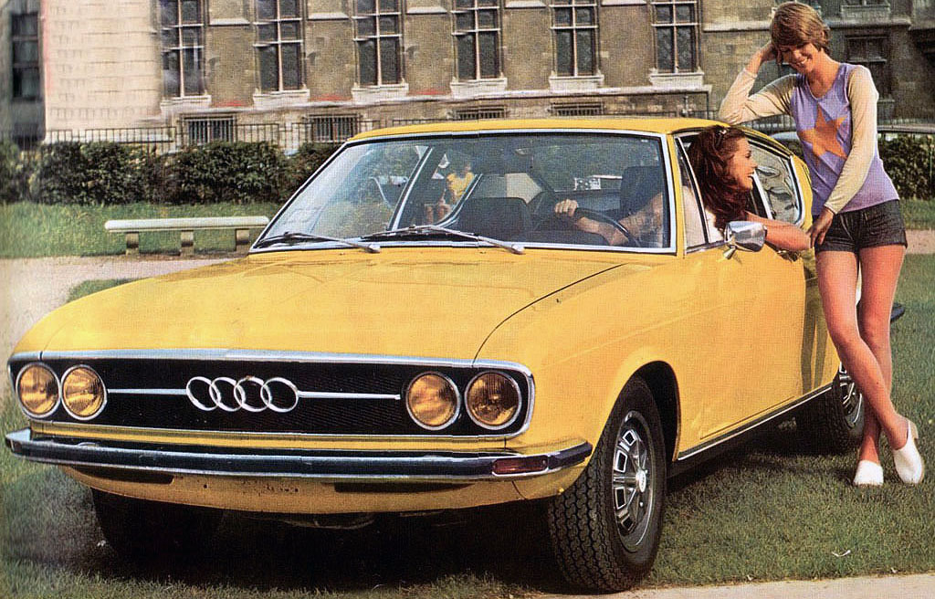 Time Wasting Machine 1969 Audi 100 Coupe S