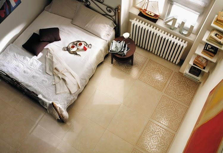 Desain Keramik Kamar Tidur Rumah Minimalis Modern Untuk Kamar Sempit