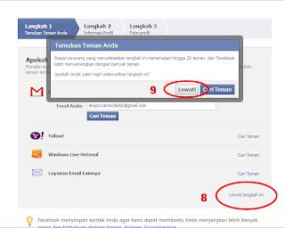 Cara bikin facebook baru
