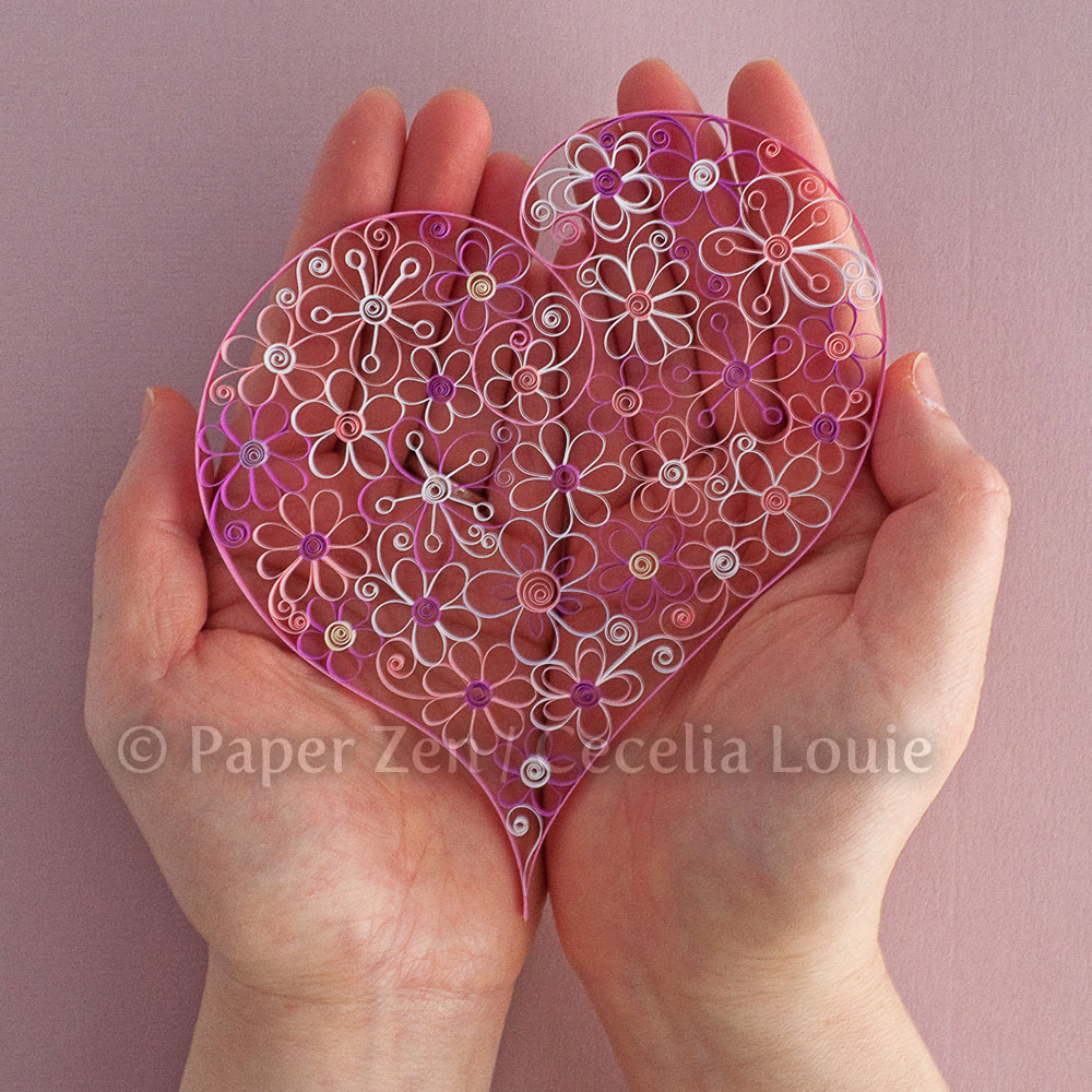 Welcome To Paper Zen Cecelia Louie Quilling Flower Pattern Update