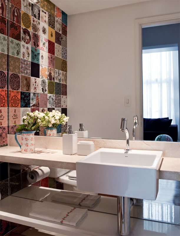 decoracao lavabos fotos:uma satisfação enorme receber os amigos quando a gente tem um lavabo