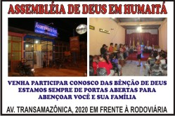 ASSEMBLIA DE DEUS EM HUMAIT