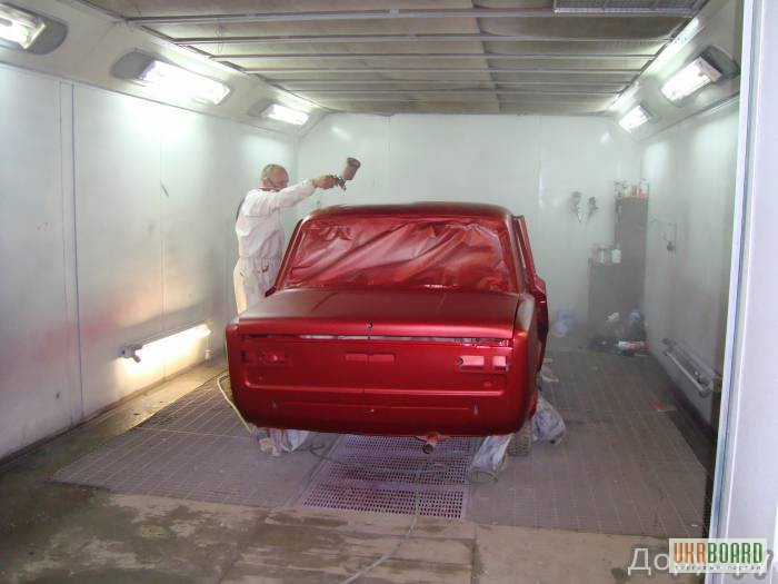 Покрасочный гараж своими руками