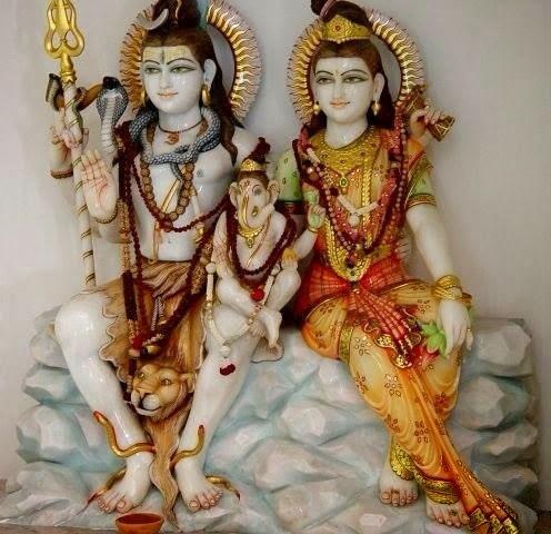 shivji with ganesh wallpaper