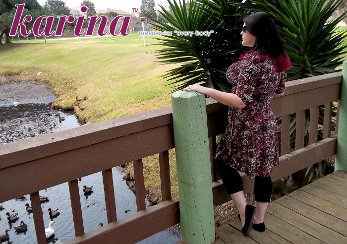 Gala Dress by Karina in Magenta Safari #Dresstacular
