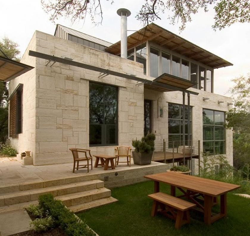 Modelos de casas dise os de casas y fachadas dise os de - Diseno de chimeneas rusticas ...