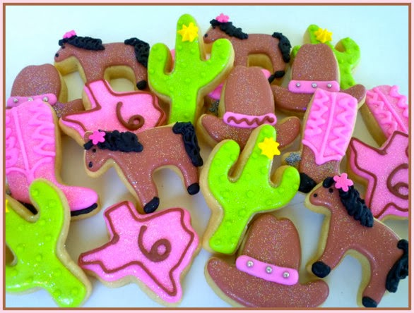 A Cookie Jar cowgirl cookies