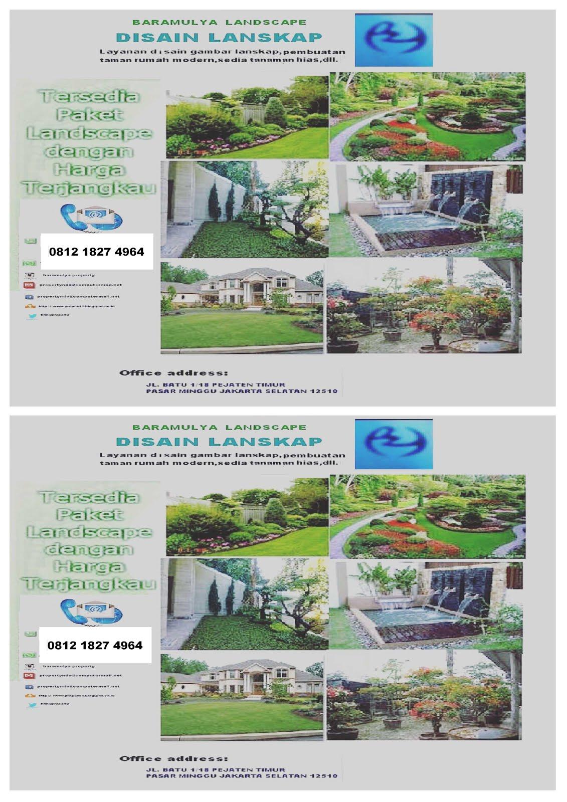 Butuh disain taman untuk rumah atau gedung anda ?
