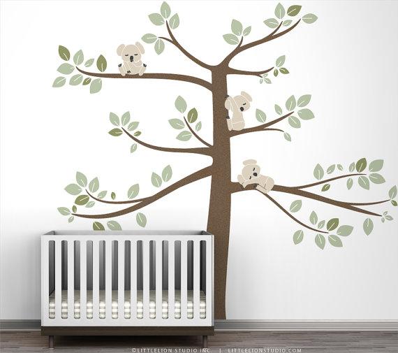 Little kiwi - Stickers koala chambre bebe ...