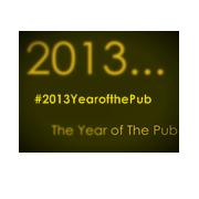 #2013YearofthePub