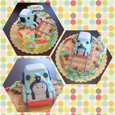 Томас и друзья торт
