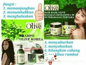 Olive Shampo - Hair Mask