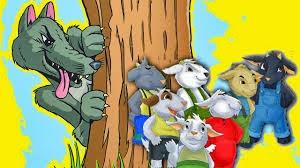 el lobo y las siete cabrillas
