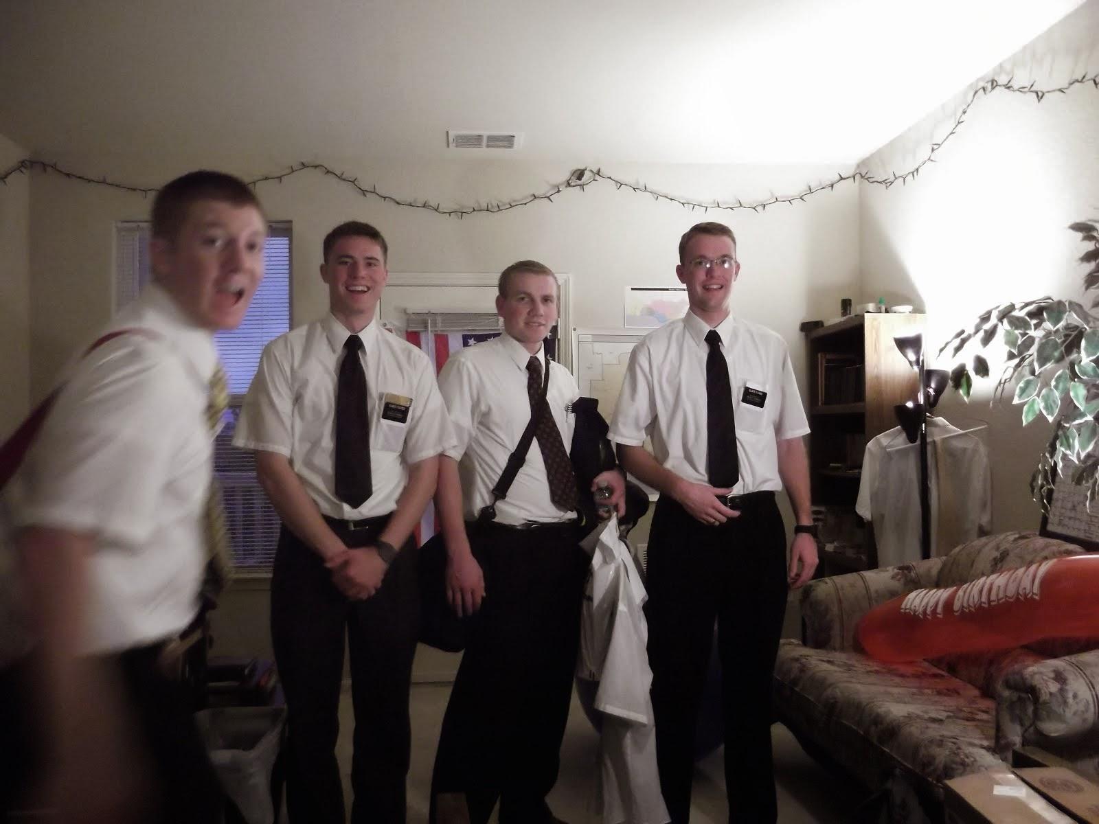 Elder Wright, Elder Foster, Elder Rhoades, Elder Evans