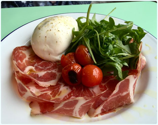 Ply Manchester - Coppa Ham and Burrata