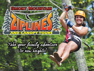 Smoky Mountain Ziplines Pigeon Forge