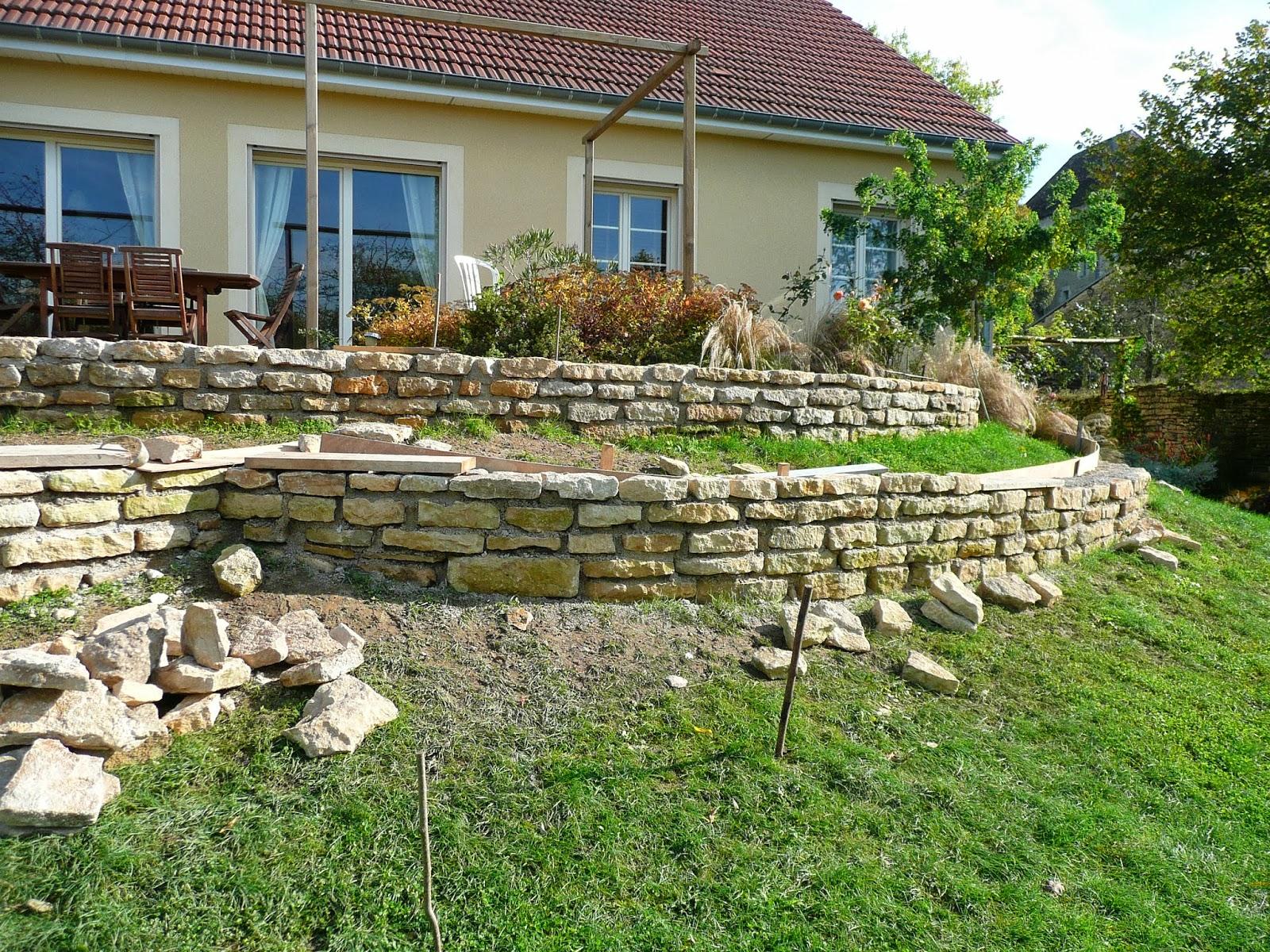 Notre jardin secret work in progress for Jardin 2 niveaux