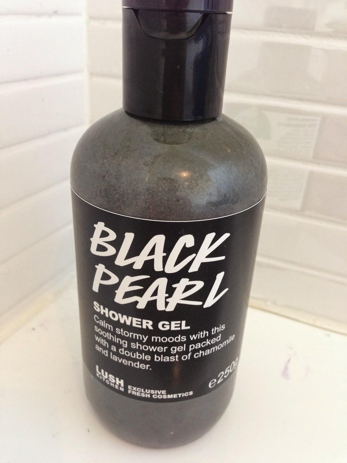 Black Pearl Shower Gel