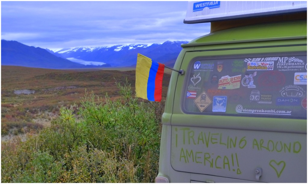 Valdez Y Denali Highway Ruta 8 Alaska En Kombi