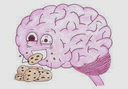 Not good for brain:  Fructose (Natural Sugar)