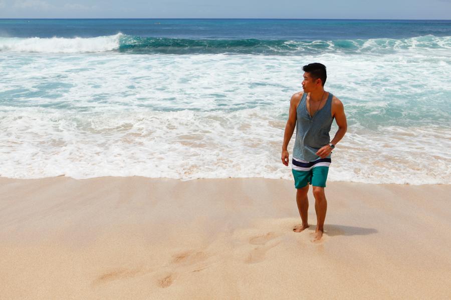 Levitate Style - North Shore Oahu, Hawaii   Summer Style Series feat H&M, Target, Merona, menswear