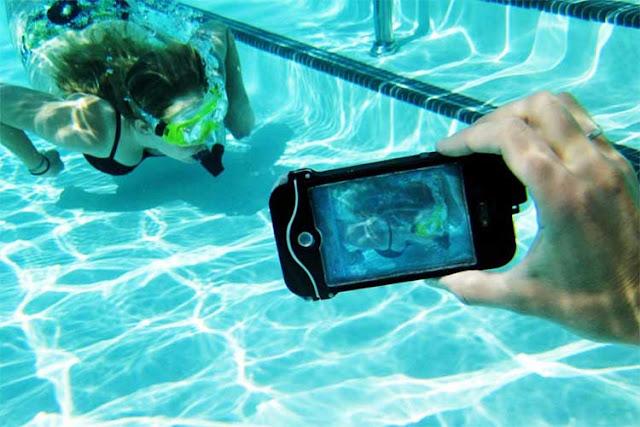 Kako da telefon učinite vodootpornim? Vodootporna maska za pravljenje podvodnih fotografija.