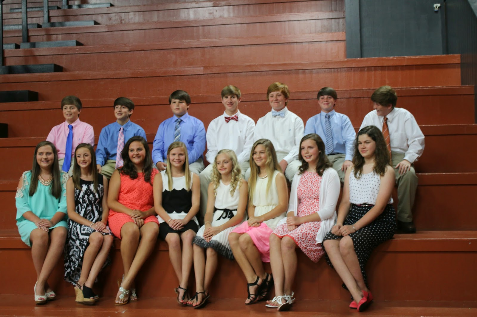 2014 6th Grade Graduation | Collin Sheffield Photography