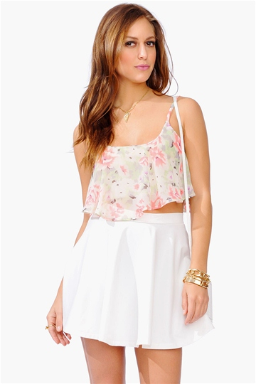 necessary clothing crop top, summer style, summer fashion, crop top, vancouver fashion blog