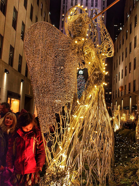 Angels, #RockefellerCenterChristmasAngel #NYCHolidays NYC 2013