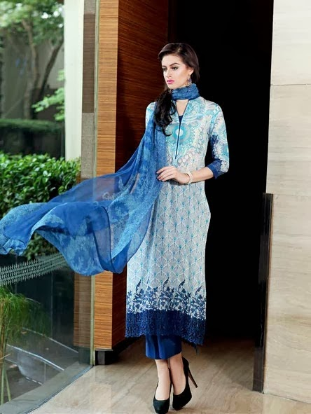 New Premium Embroidered Chiffon Collection