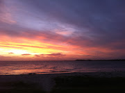 Bribie also has great surf beaches, I'll show you some of them soon :) (sunset )