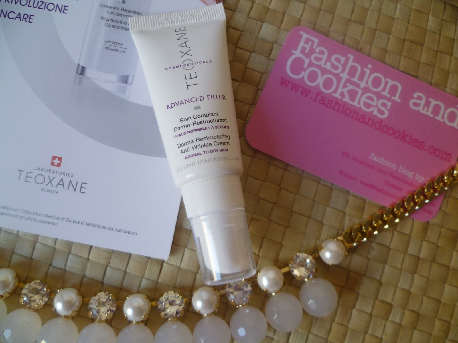 Teoxane Advanced Filler advanced anti-wrinkle cream review on Fashion and Cookies fashion and beauty blog