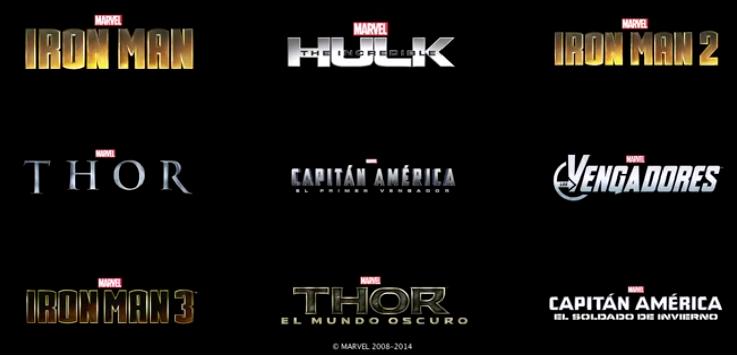 marvel cinematic universe phase 1 & 2