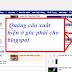 Tạo Code chèn popup quảng cáo ở góc phải cho blogspot - góc trái màn hình web