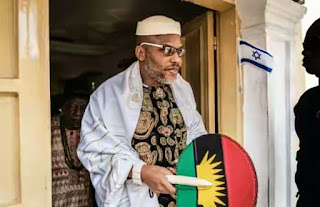 Nnamdi Kanu Counters Nigerian Army, Police Account Of Attack On His Residence, Says Nigerian Army Brought War To IPOB