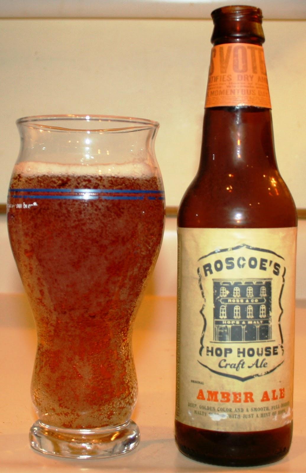 138 Roscoe S Hop House Amber Ale Insurance Guy Beer Blog