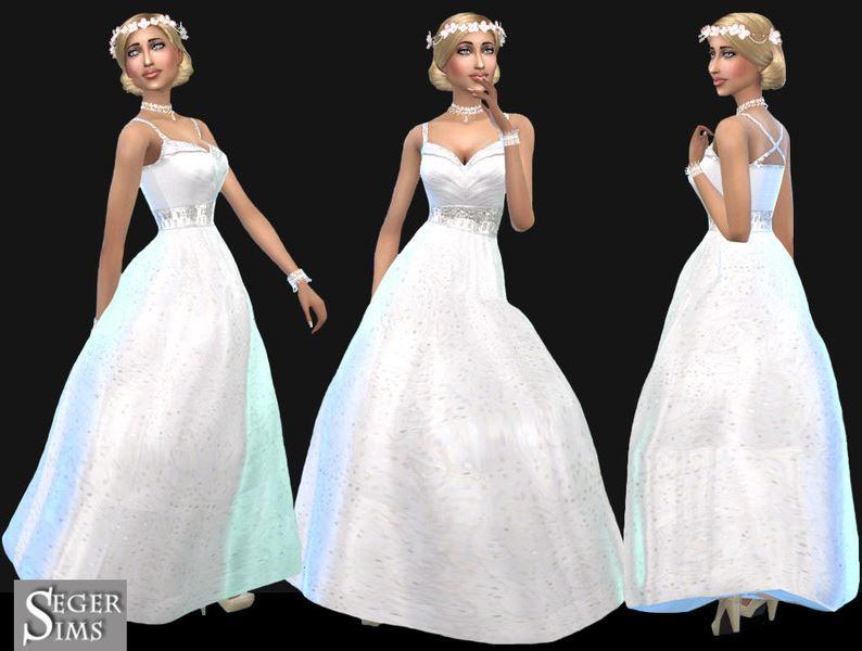 vestidos de boda los sims 4 – vestidos largos
