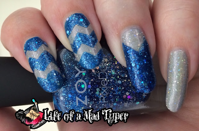 Zoya Nori and Orly mirror ball
