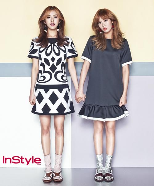 Hyuna Gayoon Instyle Magazine