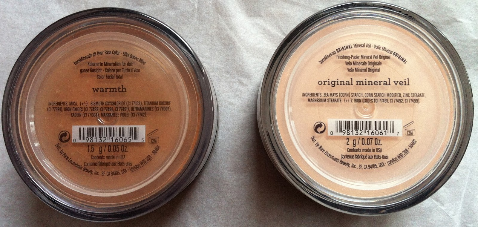 Make Up For Dolls Bare Minerals Review