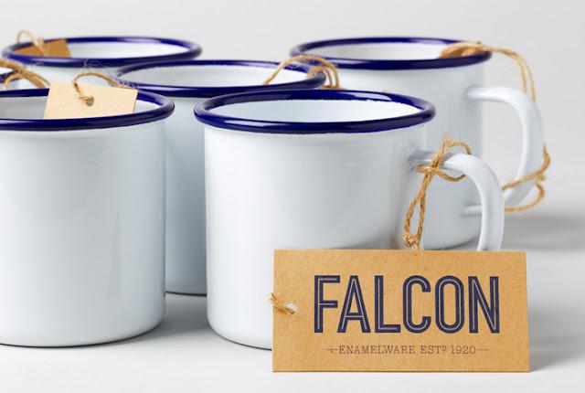 FALCON, enamelware, cacharros, esmaltados,mug,white,blue,jarra,cazo,blanco,azul,esmalte, durability,1920