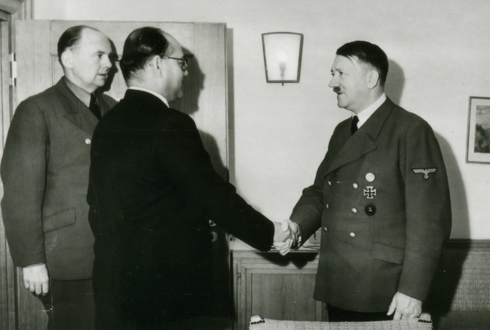 Netaji Subhas Chandra Bose and Adolf Hitler