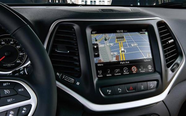 Jeep Cherokee Navigation System