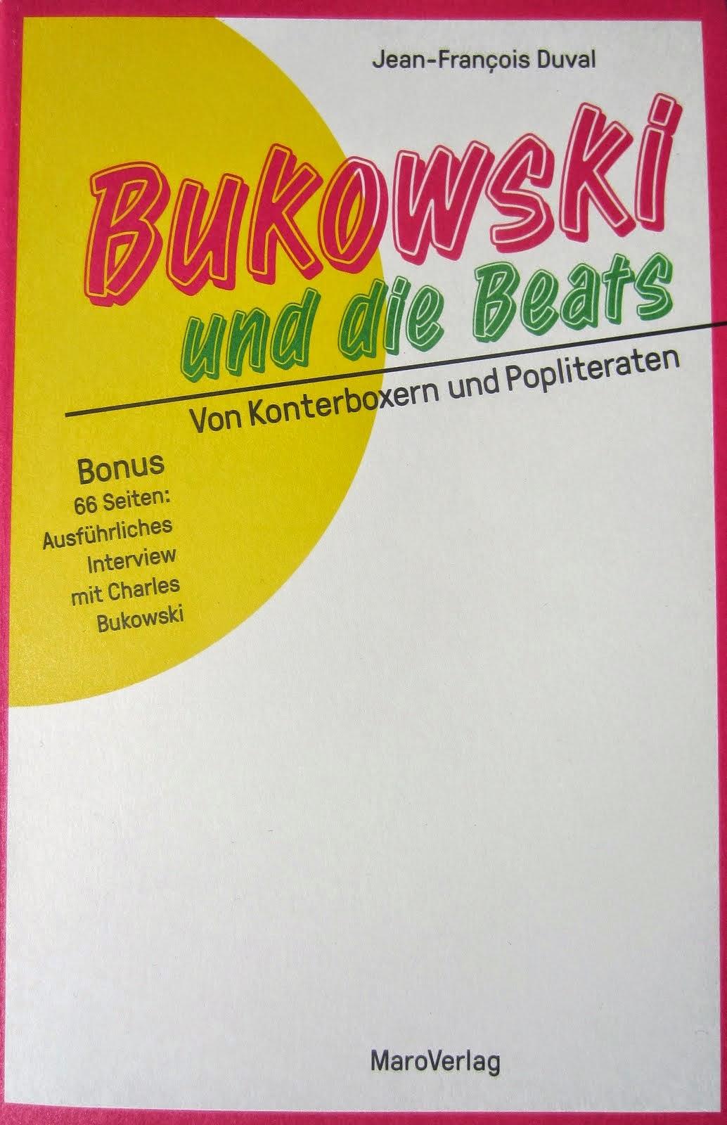 «Bukowski und die Beats», éd. allemande 2015.