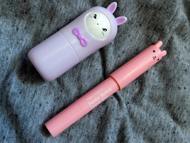 Tonymoly petite bunny gloss and hello bunny sold perfume