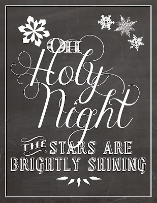 http://akadesign.ca/oh-holy-night-free-christmas-printable/
