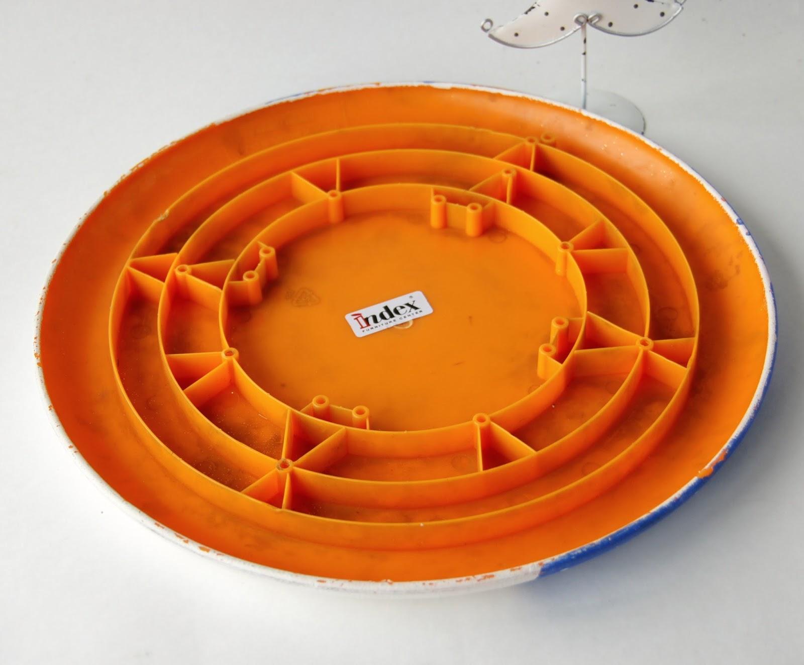 оранжевый, основа для декупажа