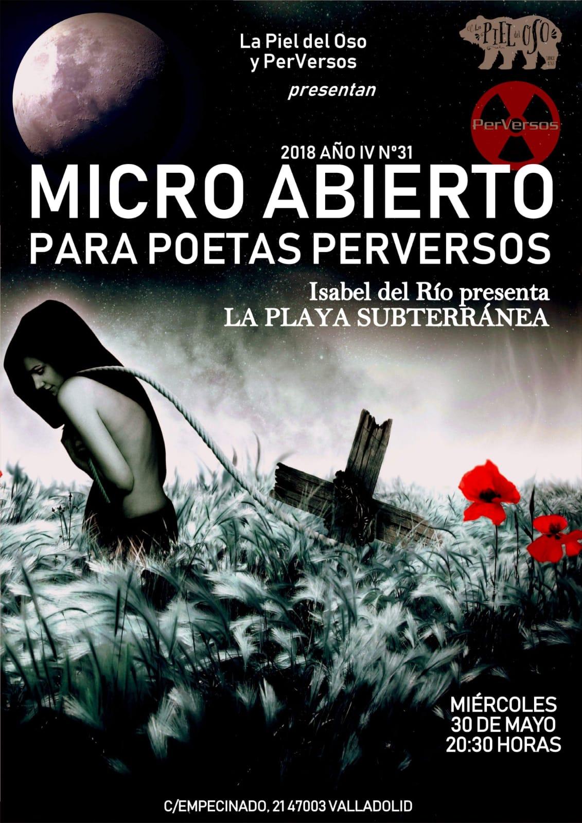 Recital LA PLAYA SUBTERRÁNEA