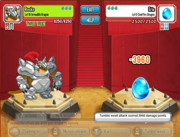 , Luchas contra alguien y no enfrentas a un Dragon si a un huevo en